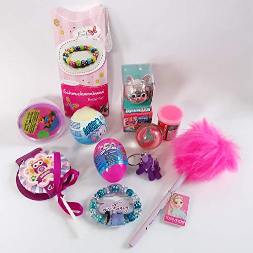 101312 Mädchen Spielsachen Set 12tlg. 6-11 Jahre Mitgebsel Füllung Adventskalender Schultüte