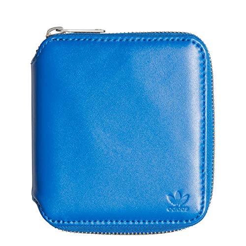 adidas Leather Wallet, Cartera Unisex Adulto, Azul (Azul), 10x5x15 cm (W x H x L)