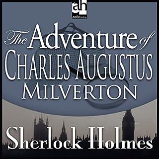 Sherlock Holmes: The Adventure of Charles Augustus Milverton audiobook cover art