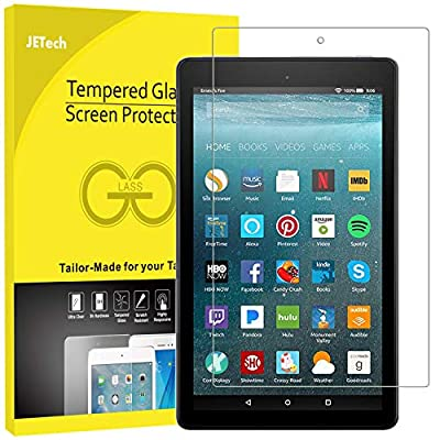 JETech Screen Protector for Amazon Fire 7 (9th / 7th Generation, 2019/2017 Model), Tempered Glass Film