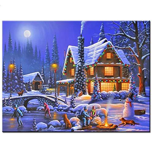 YXLY Fantasy Snow House-1000-Piece - Puzzle Puzzle Puzzle Für Erwachsene Ist Jedes Stück EIN Unikat, Die Teile Passen Perfekt Zusammen
