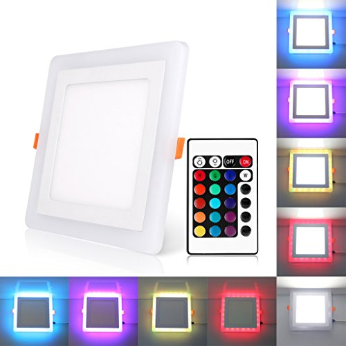 BLOOMWIN Lámpara techo- Doble color LED
