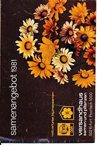 Samenangebot 81 Versandhaus Samen und Pflanzen