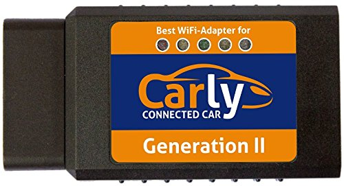 Original Carly WiFi GEN 2 OBD Adapter for iPhone - BMW, Mercedes, Porsche, Renault, Toyota