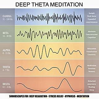Deep Theta Meditation audiobook cover art