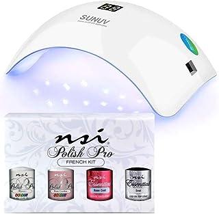 Gel Polish French Kit + Pretty Nail Lamp