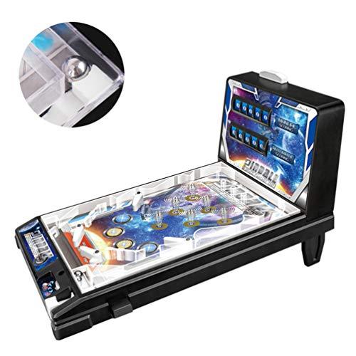 RPFF Space Pinball Machine Mini Pinball Table Toy Children Play Pinball Game Mini Parent-Child Puzzle Pinball Machine