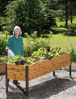2' x 8' Raised Garden Bed Elevated Cedar Planter Box Standing Garden