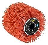 Fartools 110886 Brosse Nylon abrasifs Ø120mm-L 100mm pour Rénovateur REX120C, REX200 et REX-H200 pour décrasser/dégriser/Nettoyer