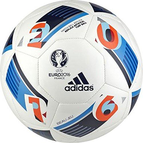 adidas da Uomo Calcio Euro 2016repartt, White/Bright Blue/Night Indigo, 5, ac5417