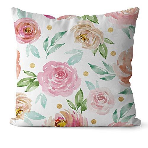 Q_STZPX Camino De Cama Corredor De La Cama Rosa Nordic Beauty Bed...