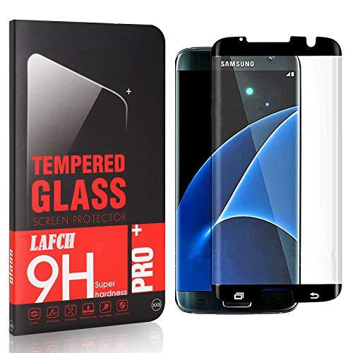 LAFCH Panzerglasfolie für Samsung Galaxy S7 Edge, 1 Stück mit 9H Härte, Anti-Kratzen, Anti-Öl, Anti-Bläschen, Hülle Freundllich, 3D Runde Kante