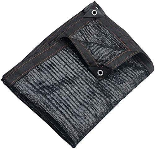 Mirui Schwarz Anti-uv Shade Net Schatten Tuch Schwarz Sunblock Stoff UV-beständig Sun Mesh-Tarp for Terrasse/Pergola/Schutzdach (Größe: 2m x 4m) Größe: 3m x 4m (Size : 5m x 7m)