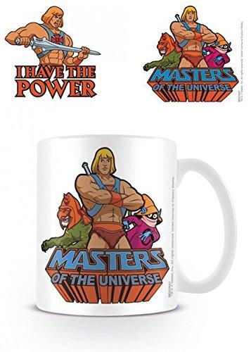1art1 Masters of The Universe - I Have The Power, Mattel Foto-Tasse Kaffeetasse 9 x 8 cm