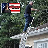 Ladder Safety Rails, Ladder Standoff, Ladder Stabilizer, Ladder Extension for Safety and Fall Protection