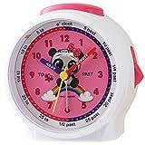 Ravel Children's Bedside Alarm Clock - White Panda