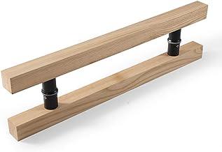 JF-handrails voor glazen deur, massief hout, businesshandvat/deurgreep, 6 lengtes