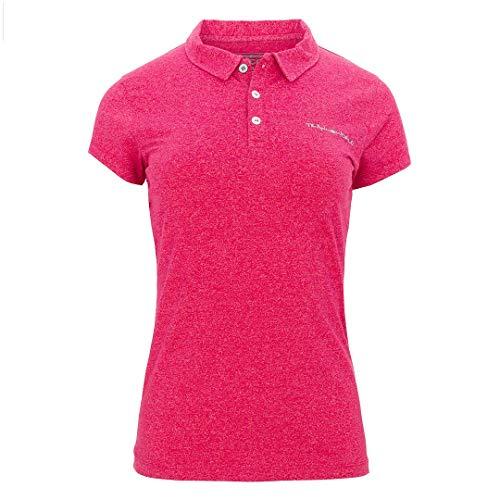 Trangoworld Ulia Polo Femme, Rouge (Rojo Persa), L