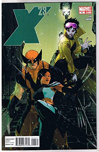 X-23#11, NM, Claws,2010, Wolverine, Gambit, Jubilee Vampire, more in our store
