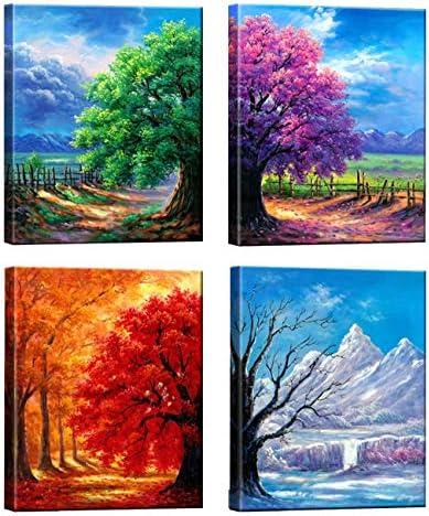 4 seasons wall art _image0