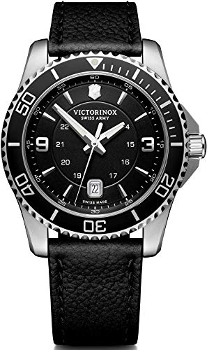 Victorinox Herren Maverick - Swiss Made Analog Quarz Edelstahluhr 241862