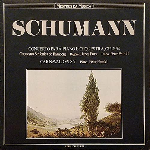LP - Concerto Para Piano E Orquestra, Opus 54 / Carnaval, Opus 9 (Coleção Mestres Da Musica)
