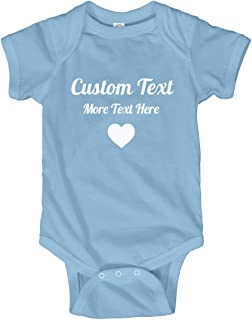 Personalized Baby Outfit with Custom Text: Infant Bodysuit