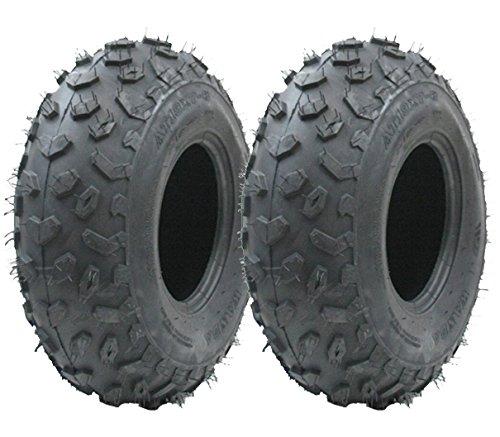 Dos - 19x7.00-8 neumático Quad, ATV E Marcado Carretera Legal neumático Paseo de neumático en Lawnmower