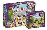 Bundle LEGO® Friends 41425 41426 Olivia's Flower Garden + Heartlake City Park Café