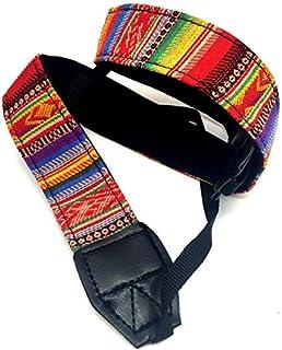 حزام الكاميرا حزام الكتف العنق سلسلة نمط العرقية لكاميرات سوني، كانون، هدية لكاميرا اس ال ار/دي اس ال ار