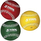 The Rawling's 3-Inch weighted balls are a good tool for building arm strength.