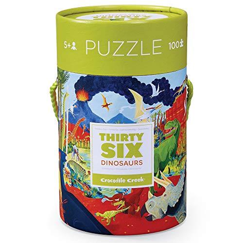 Crocodile Creek 4054-1 Puzzle Puzzle - Rompecabezas (Puzzle Rompecabezas, Dinosaurios, Niños, Dinosaurio, Niño/niña, 5 año(s)) (Juguete)