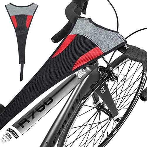 Jinhuaxin Cubierta Sudor para Entrenamiento Bicicleta, Protector de Sudor de Bicicleta, Protector Sudor Bicicleta Carretera para Bicicleta Entrenamiento de Ciclis