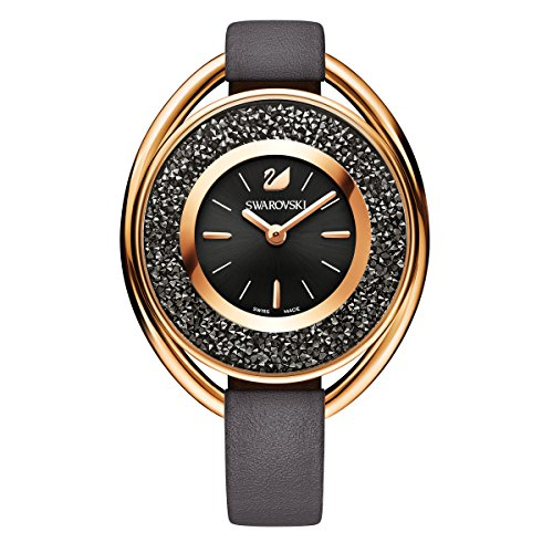 Swarovski Crystalline Oval Gray Tone Uhr