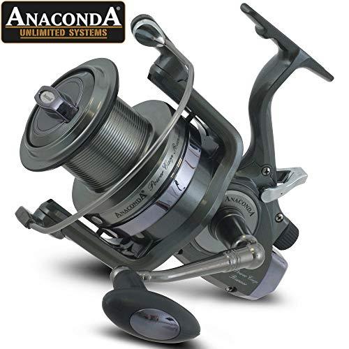 Anaconda Unisex– Erwachsene Power Carp Runner LC12000 (Freilauf-Karpfenrolle), Rollengröße:12000, Schwarz