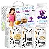 KETOGENIC Diet Shock | D-KETO A | con all'interno il POTENTE KETO Fat Burner Line@ | DIETA URTO per 5 GIORNI | PERDI PESO VELOCE !
