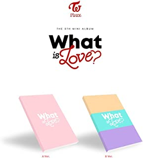 TWICE - WHAT IS LOVE? [Random ver.] (5th Mini Album) CD+Photocards+Sticker+Pre-Order Benefit+Folded Poster+Free Gift