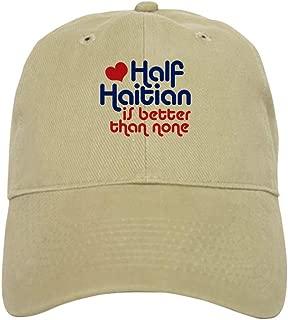 Half Haitian Baseball Cap