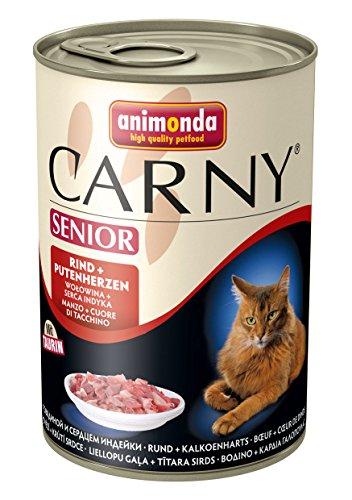 Animonda Carny  Senior Rind + Putenherzen  6x400 g Dose