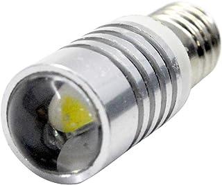 Ruiandsion 1 stks 6-18V E10 LED Upgrade Lamp CREE 5W Wit LED Lamp Vervanging voor Koplampen Zaklampen Torch Gloeilampen, N...