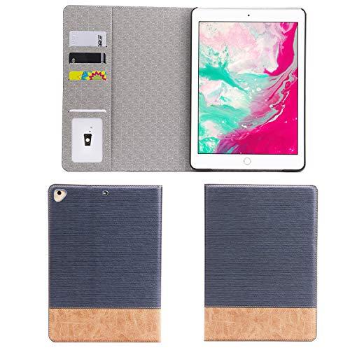 Galaxy Tab S2 8.0 cover case, Avril Tian sottile custodia a libro con porta carte leggera pellicola protettiva Smart Case per Tab S2 8.0/sm-t715/sm-t710 tablet,Dark Blue, Tab S2 8.0