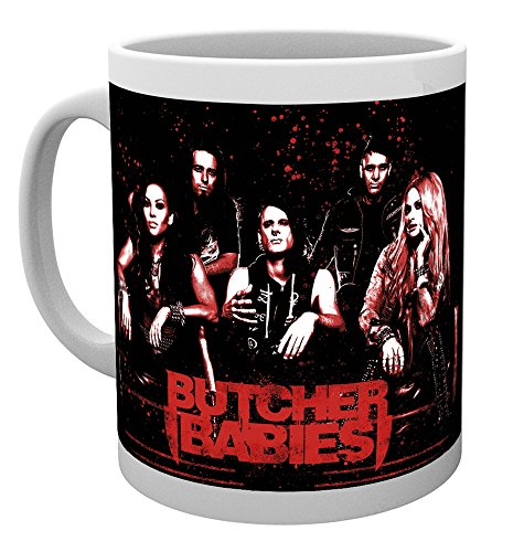 GB Eye LTD, Butcher Babies, Grupo, Taza