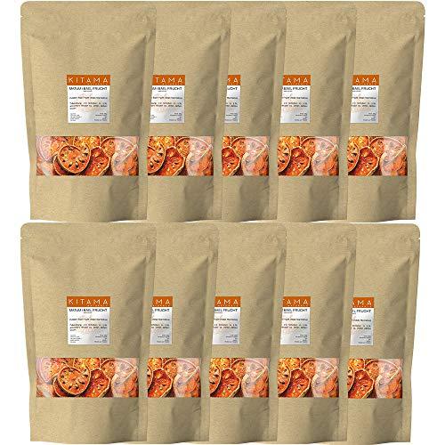 Matum - Bael Frucht - Bengalische Quitte 3000g (3 Kg) als Wellness & Spa Tee – ideal zum Entspannen (10 x 300g Packung)