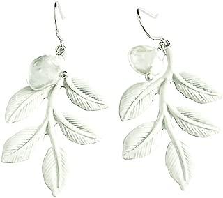 ロマンチックバロック真珠ホワイトカラリーフ