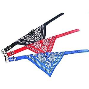 Ducomi® Maison Collier réglable avec Dog bandana l'accessoire pour chien et chat-Le foulard pour votre animal