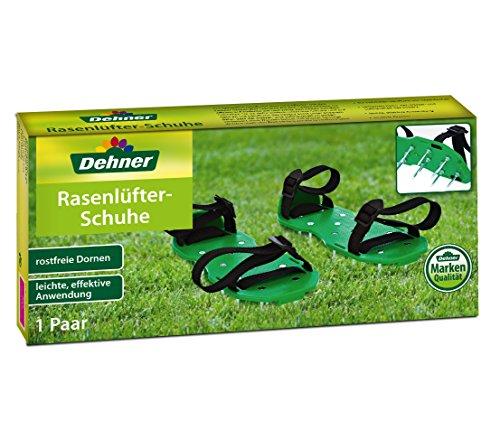 Dehner Rasenlüfterschuh Sunny, ca. 32 x 15 x 5 cm, grün