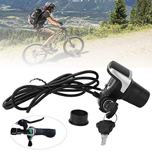 Solomi E-Bici del Acelerador - Bicicleta eléctrica del Manillar de la torcedura del puño del Acelerador Kit de 36V