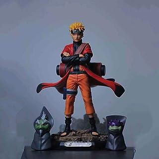 Verkligt och roligt Anime tecken Naruto Fairy Naruto Uzumaki Premium Boxed Picture Toy Modell Staty Doll Skulptur Höjd 22cm