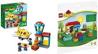レゴ(LEGO) デュプロ デュプロ(R)のまち くうこう 10871 & デュプロ 基礎板(緑) 2304
