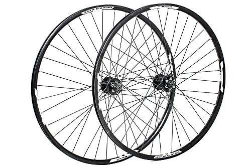 Raleigh Unisex's 6502B Tru Build Cycle Wheel, Black, Size 27.5